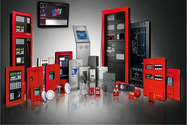 componentes de un sistema de deteccion de incendio