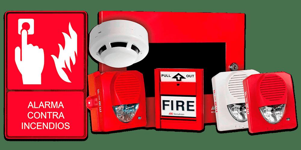 dispositivos para sistema de deteccion y alarma contra incendio