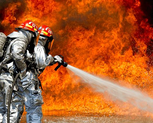 extinción oportuna sistema de detección y alarma contra incendio