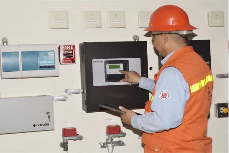 inspeccion prueba y mantenimiento de sistemas contra incendio