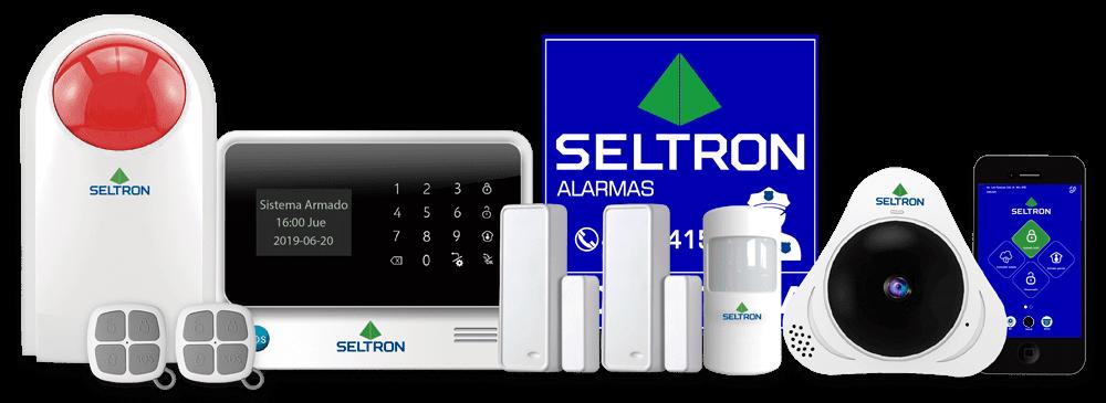 kit alarma de seguridad contra robo seltron smart