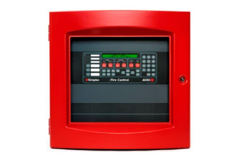 panel centralizado de alarma contra incendio