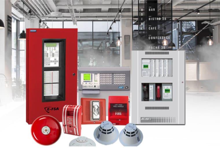 que es un sistema de deteccion de incendio