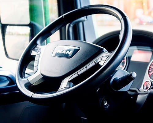 videovigilancia vehicular en cabina de control de vehiculo