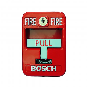 Pulsador manual de incendio direccionable Bosch FMM-7045