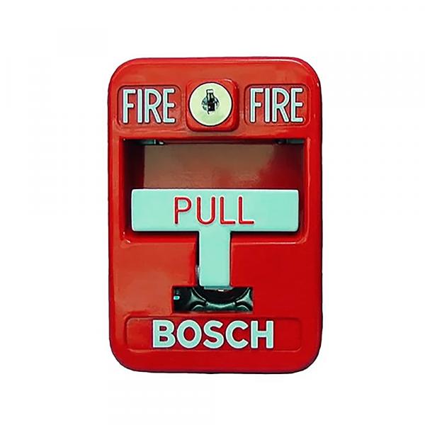 Pulsador manual de incendio direccionable Bosch FMM-7045