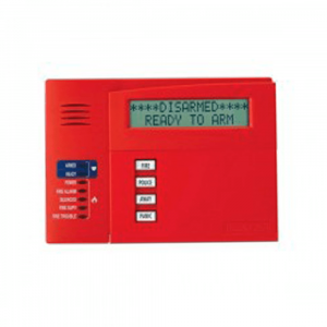 Teclado LCD Alfanumérico Honeywell 6160CR-2