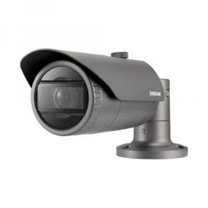 Cámara Bullet IR de red de 4MP con lente de 2,8 mm Samsung QNO-7080R