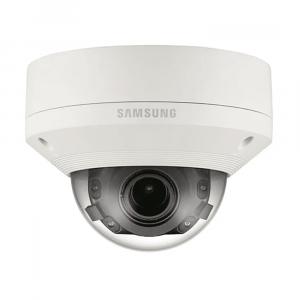 Cámara domo de red IR antivandálica de 4K Samsung PNV-9080R