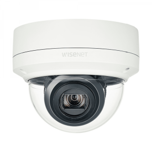 Cámara domo de red para exteriores con zoom óptico de 2MP Samsung XNV-6120