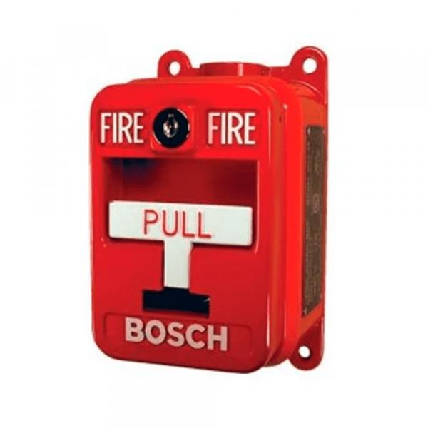 Pulsador manual de incendio Bosch FMM-100DAT