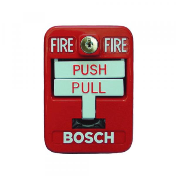 Pulsador manual de incendio de doble acción Bosch FMM-100DATK