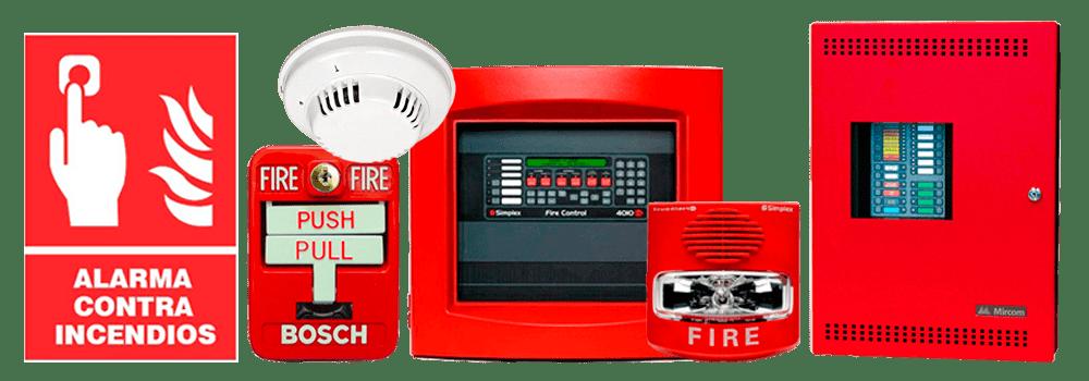 dispositivos alarma incendio